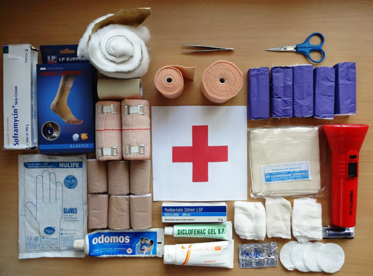 What's Inside a First-Aid Kit?