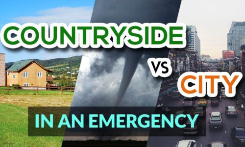 Countryside Vs City in an Emergency