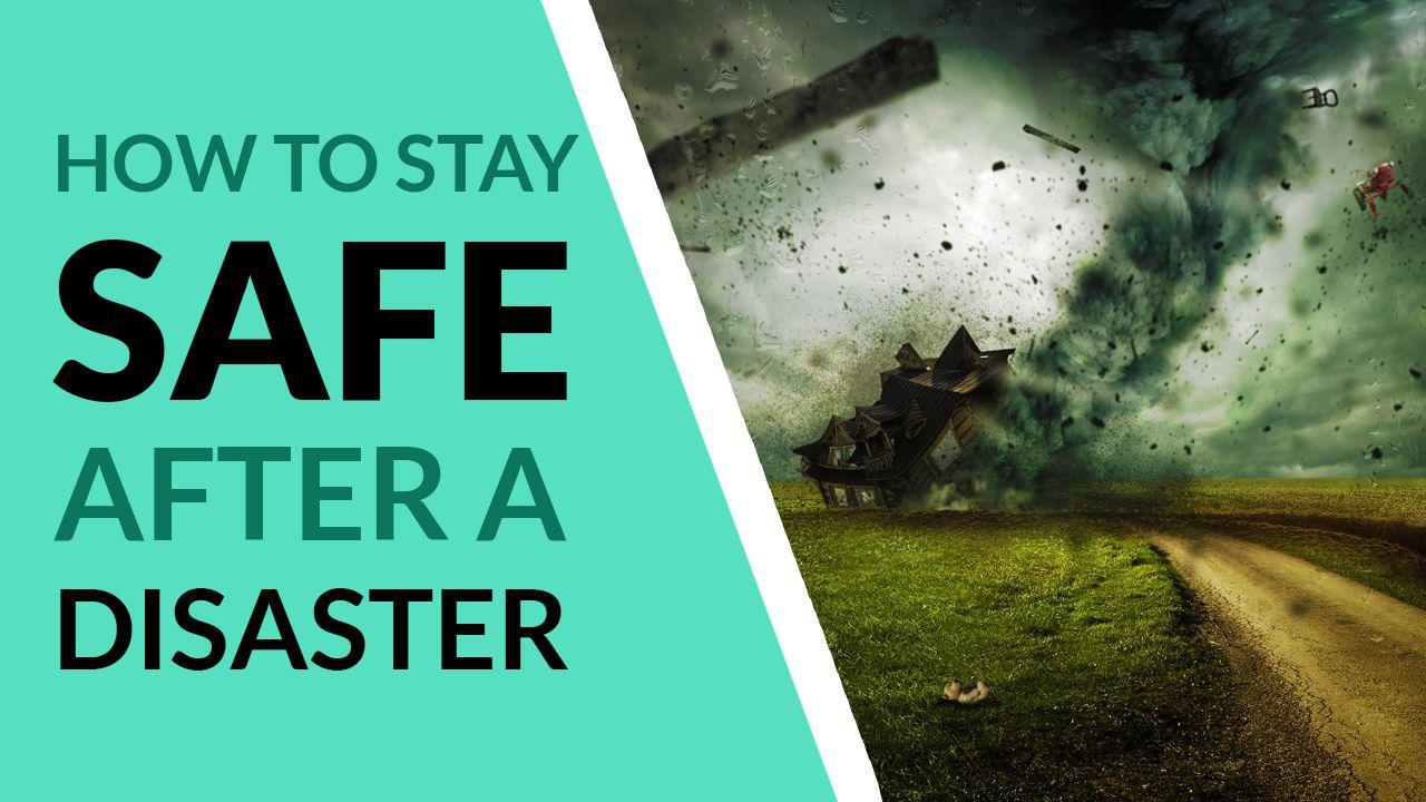 How to survive disasters